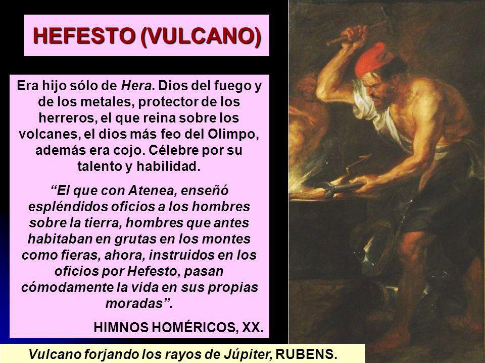 Vulcano forjando los rayos de Júpiter, RUBENS.