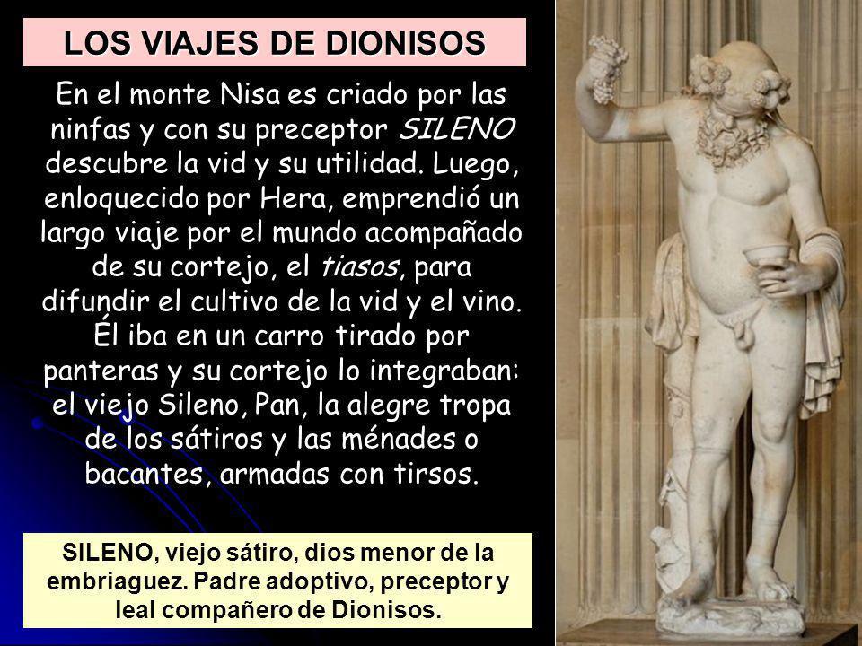LOS VIAJES DE DIONISOS
