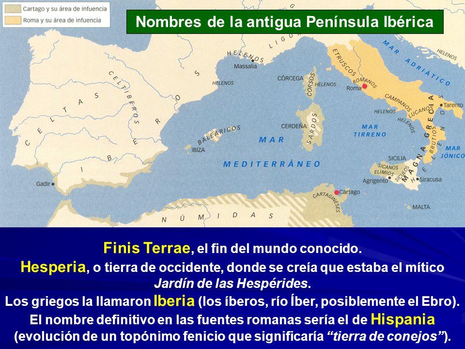 Nombres de la antigua Península Ibérica