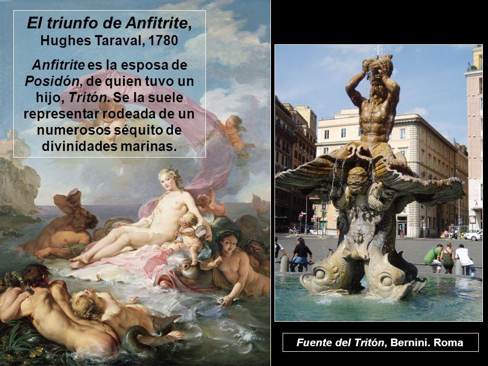 El triunfo de Anfitrite, Hughes Taraval, 1780