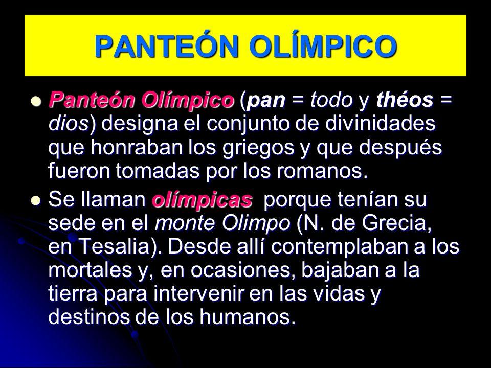 PANTEÓN OLÍMPICO