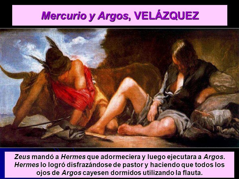 Mercurio y Argos, VELÁZQUEZ