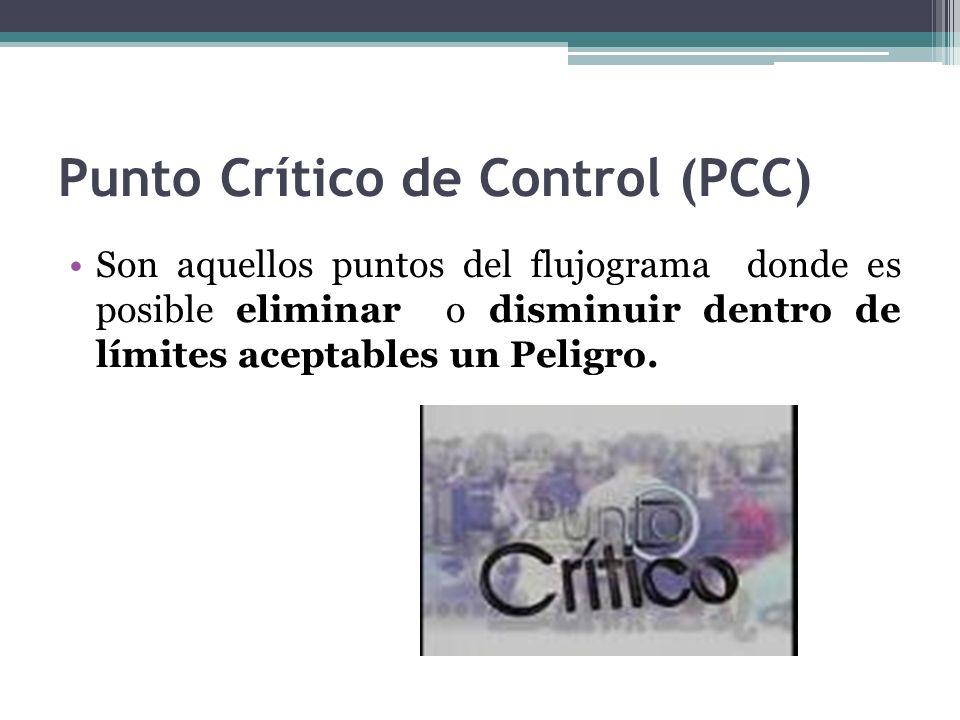 Punto Crítico de Control (PCC)