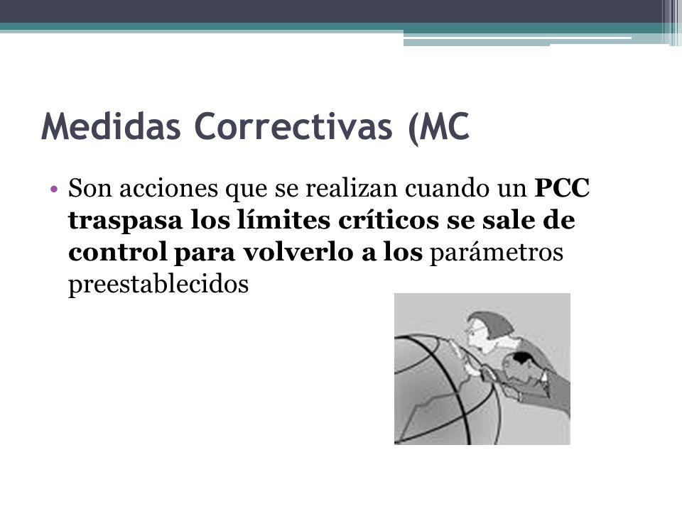 Medidas Correctivas (MC
