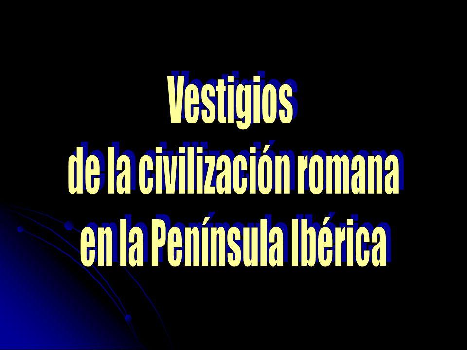 de la civilización romana en la Península Ibérica