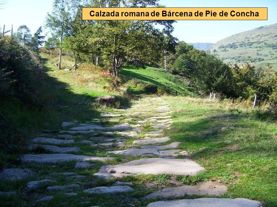 Calzada romana de Bárcena de Pie de Concha