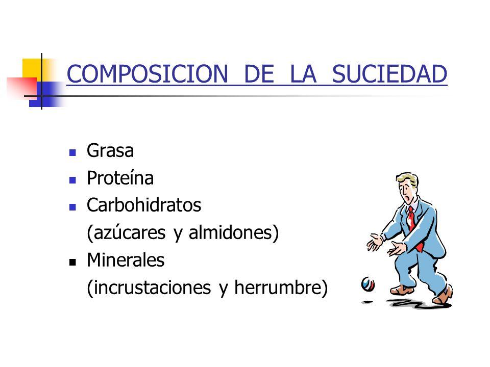 COMPOSICION DE LA SUCIEDAD