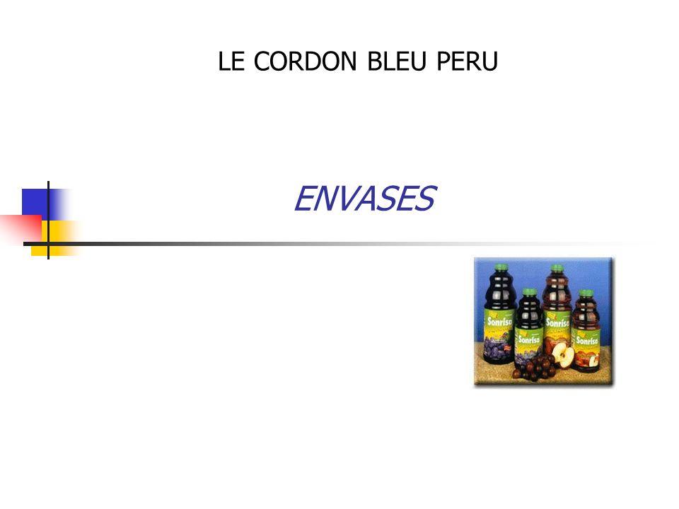 LE CORDON BLEU PERU ENVASES