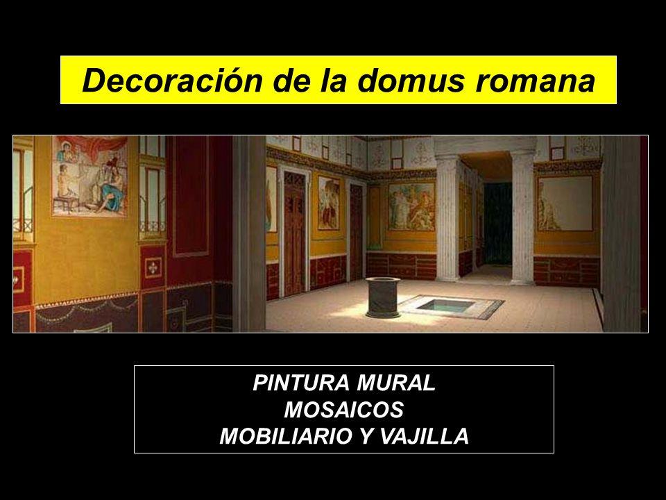 Decoración de la domus romana