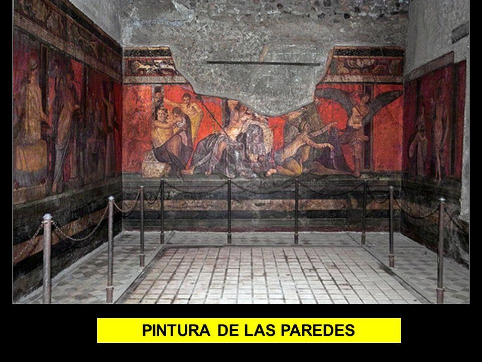 PINTURA DE LAS PAREDES