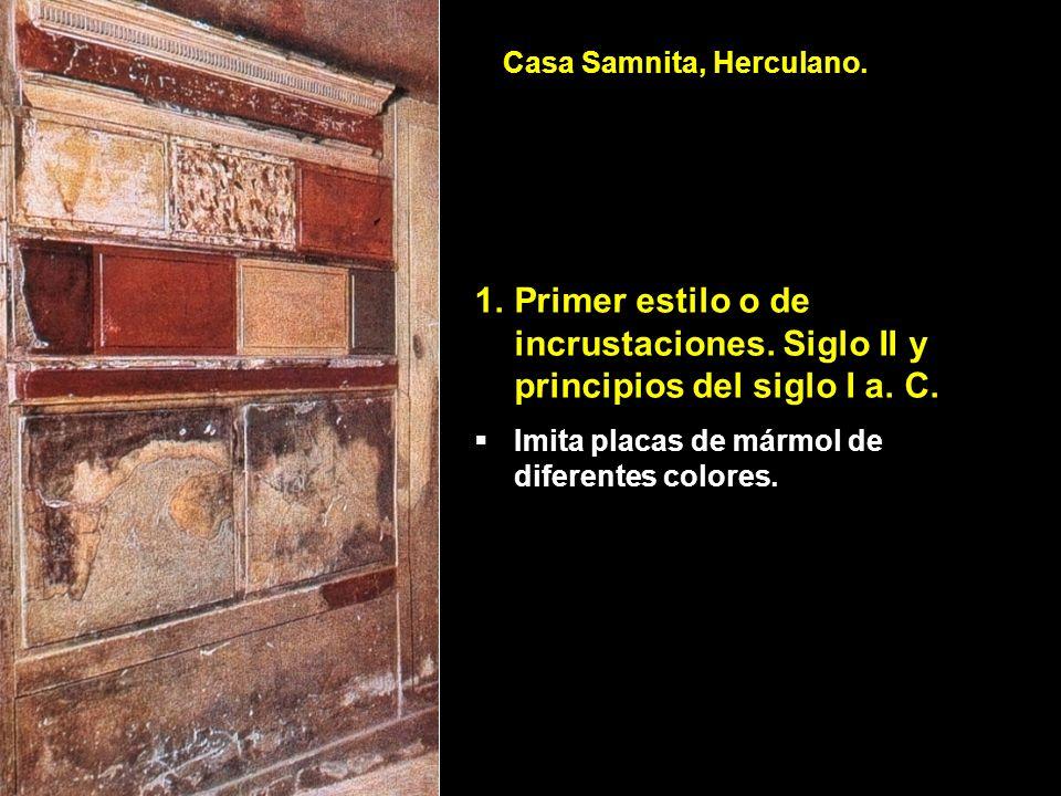 Casa Samnita, Herculano.