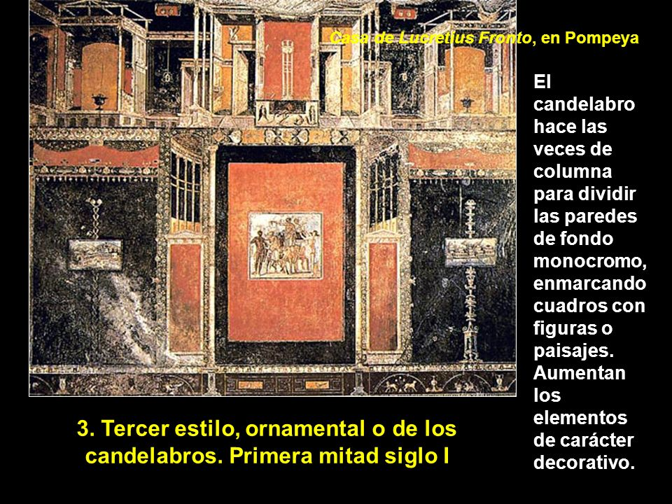 Casa de Lucretius Fronto, en Pompeya