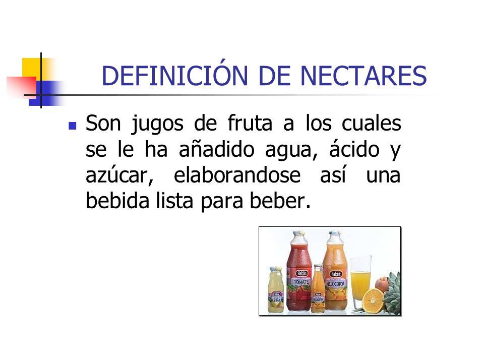 DEFINICIÓN DE NECTARES