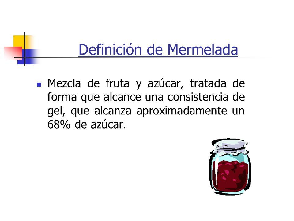 Definición de Mermelada