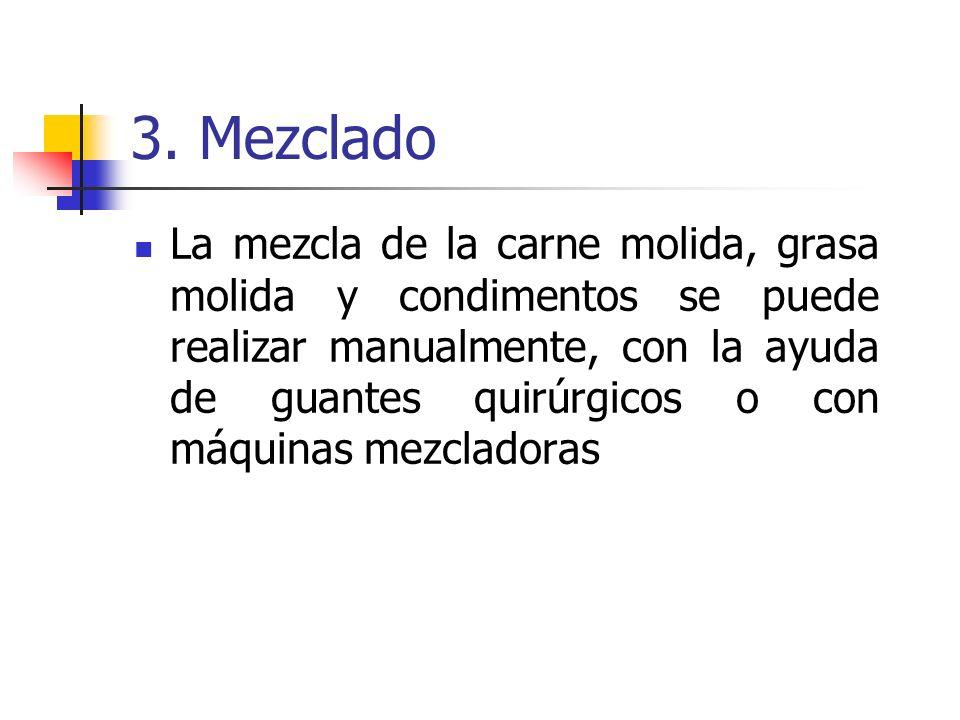 3. Mezclado