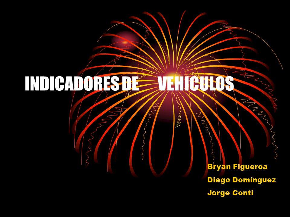 INDICADORES DE VEHICULOS