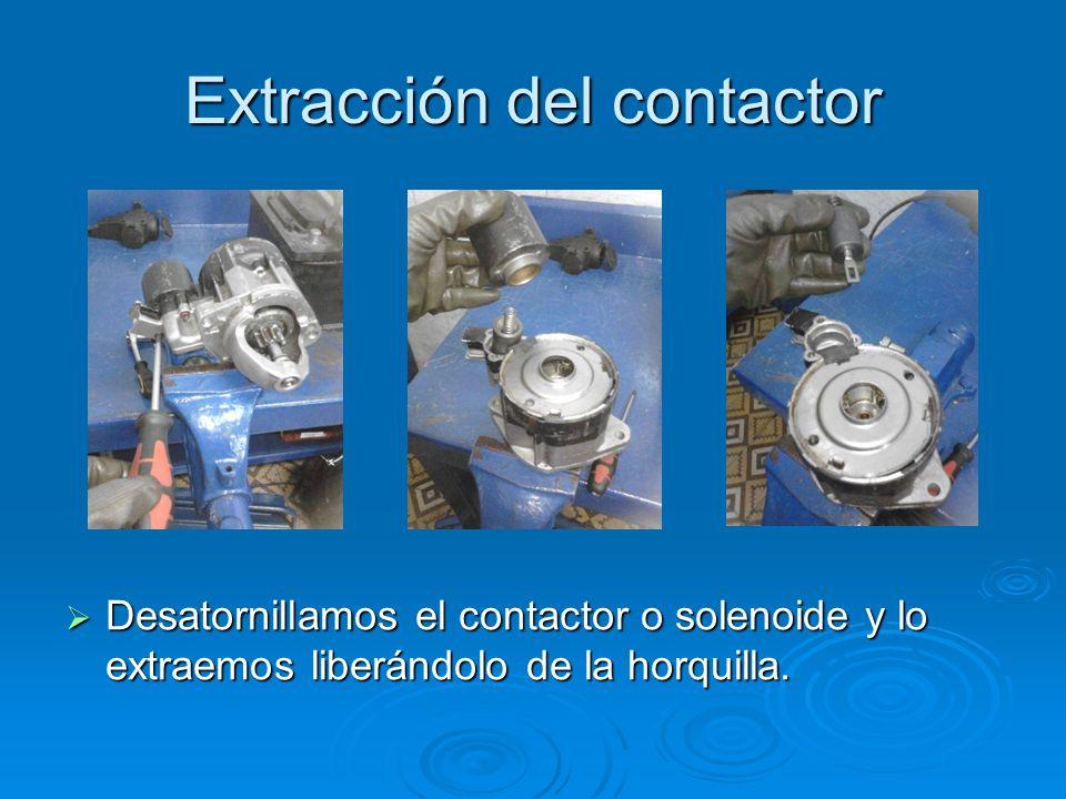 Extracción del contactor