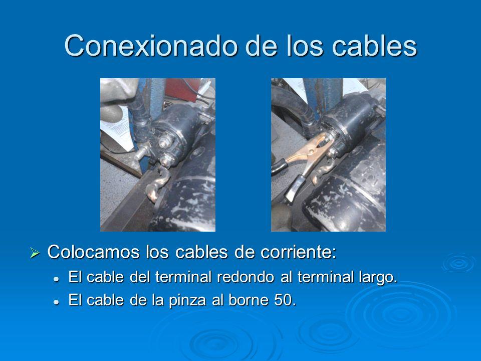Conexionado de los cables