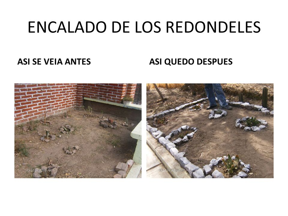 ENCALADO DE LOS REDONDELES