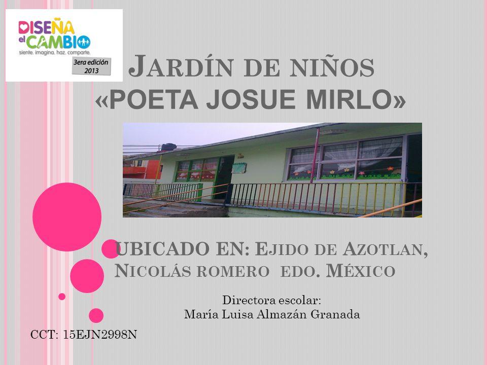 UBICADO EN: Ejido de Azotlan, Nicolás romero edo. México