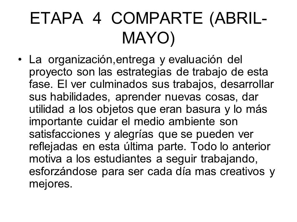 ETAPA 4 COMPARTE (ABRIL-MAYO)