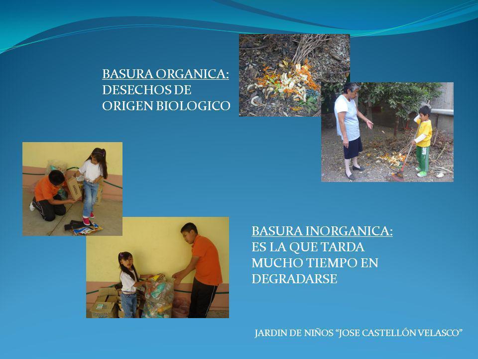 DESECHOS DE ORIGEN BIOLOGICO