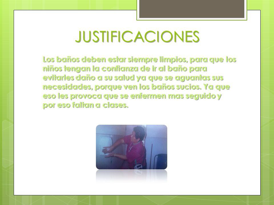 JUSTIFICACIONES