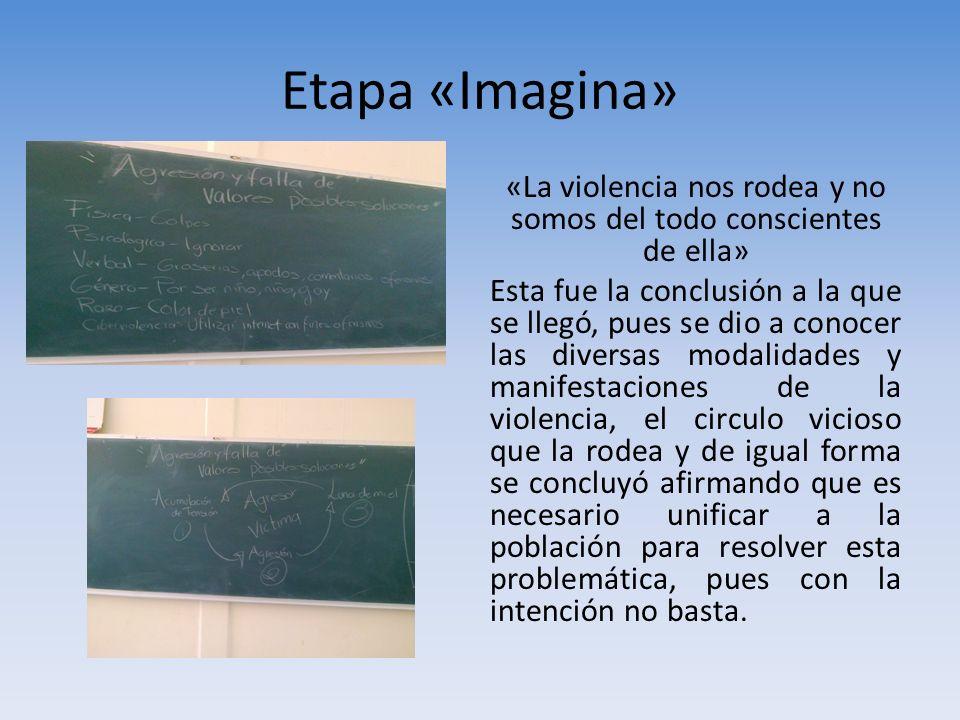 Etapa «Imagina»