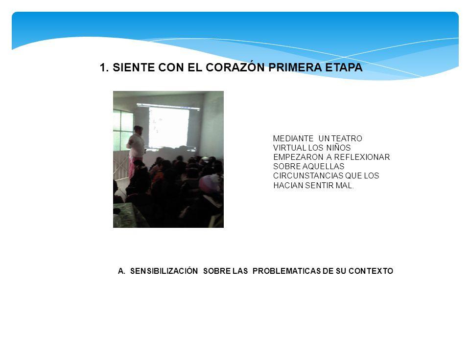 1. SIENTE CON EL CORAZÓN PRIMERA ETAPA