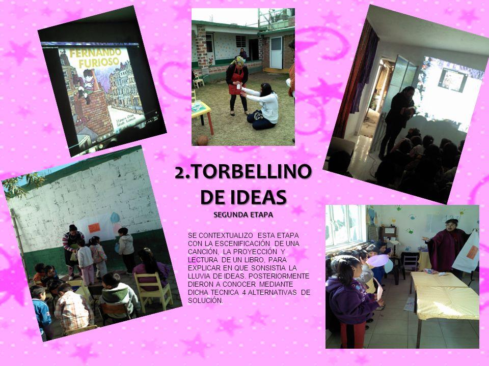 2.TORBELLINO DE IDEAS SEGUNDA ETAPA