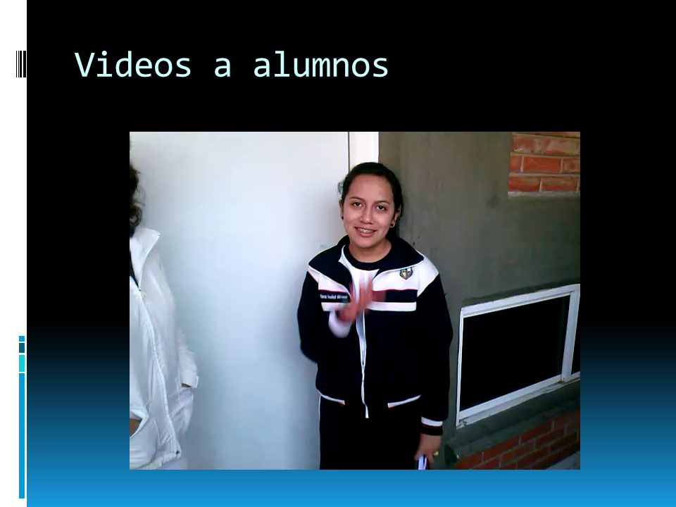 Videos a alumnos