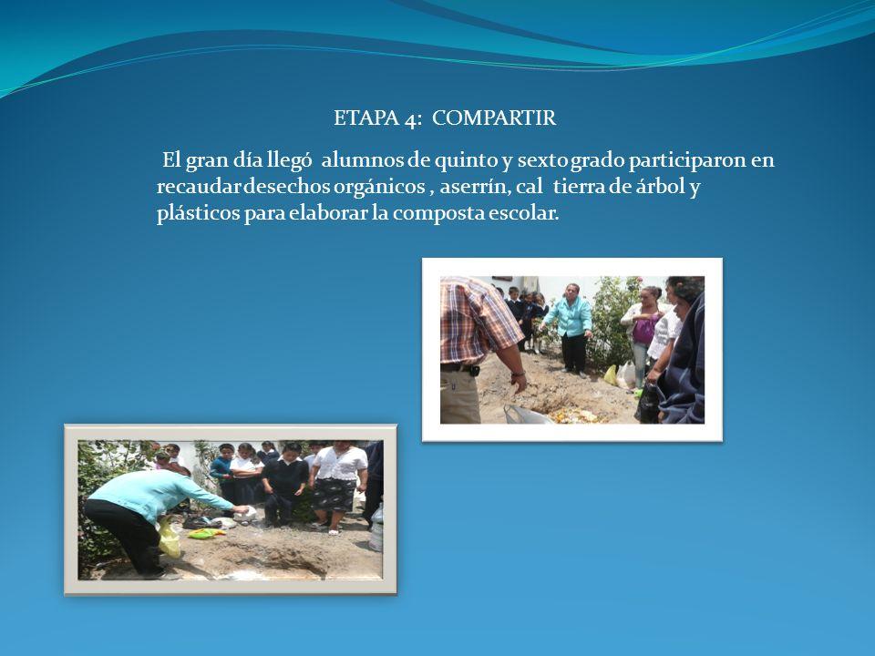 ETAPA 4: COMPARTIR