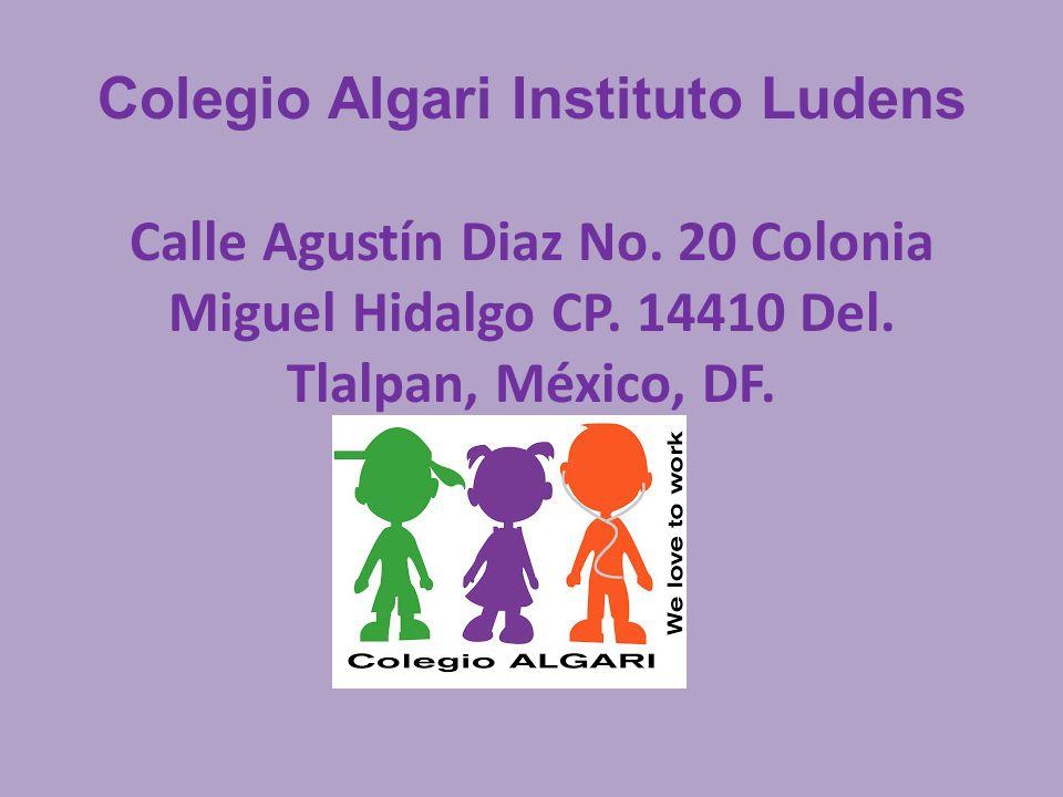Colegio Algari Instituto Ludens Calle Agustín Diaz No