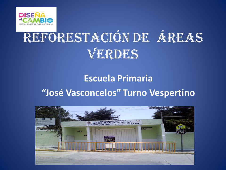 REFORESTACIÓN DE ÁREAS VERDES