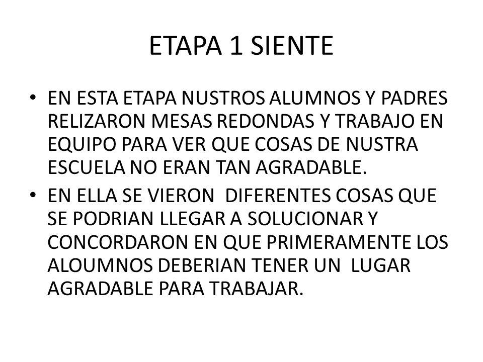 ETAPA 1 SIENTE