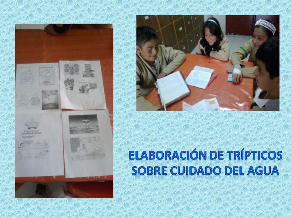 Elaboración de trípticos