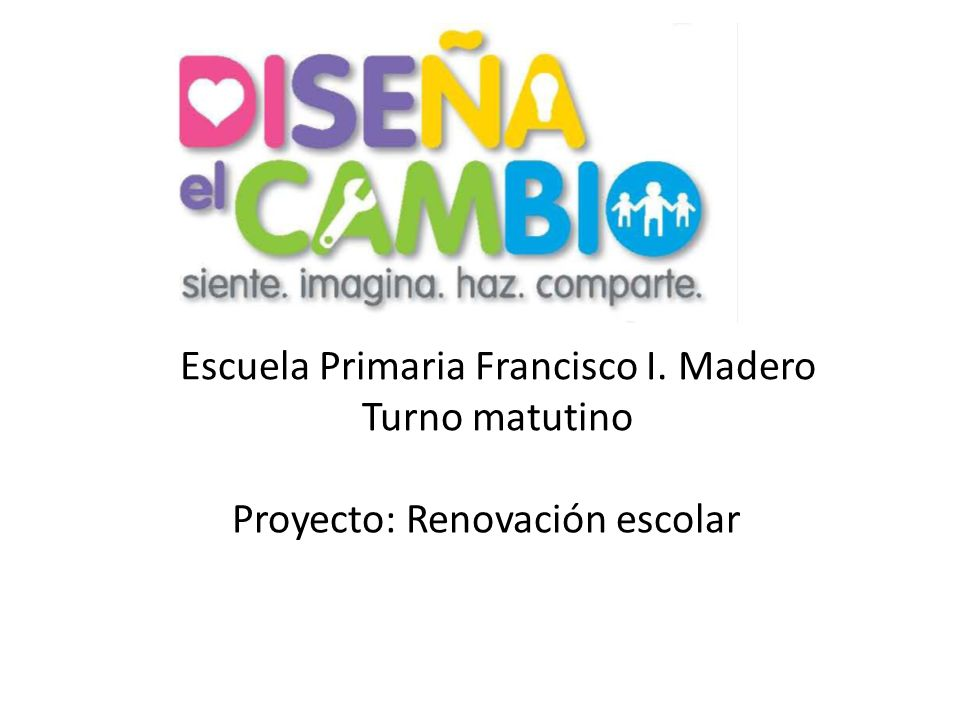Escuela Primaria Francisco I. Madero Turno matutino