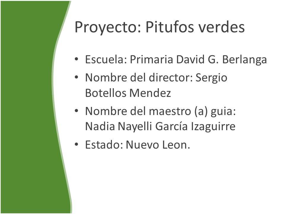 Proyecto: Pitufos verdes