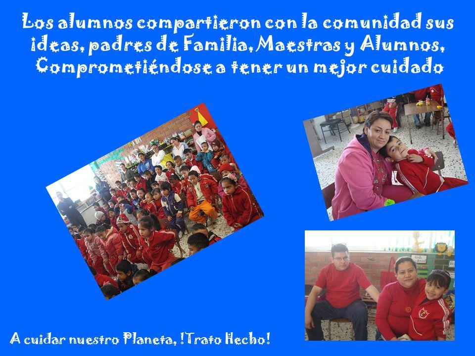 Los alumnos compartieron con la comunidad sus