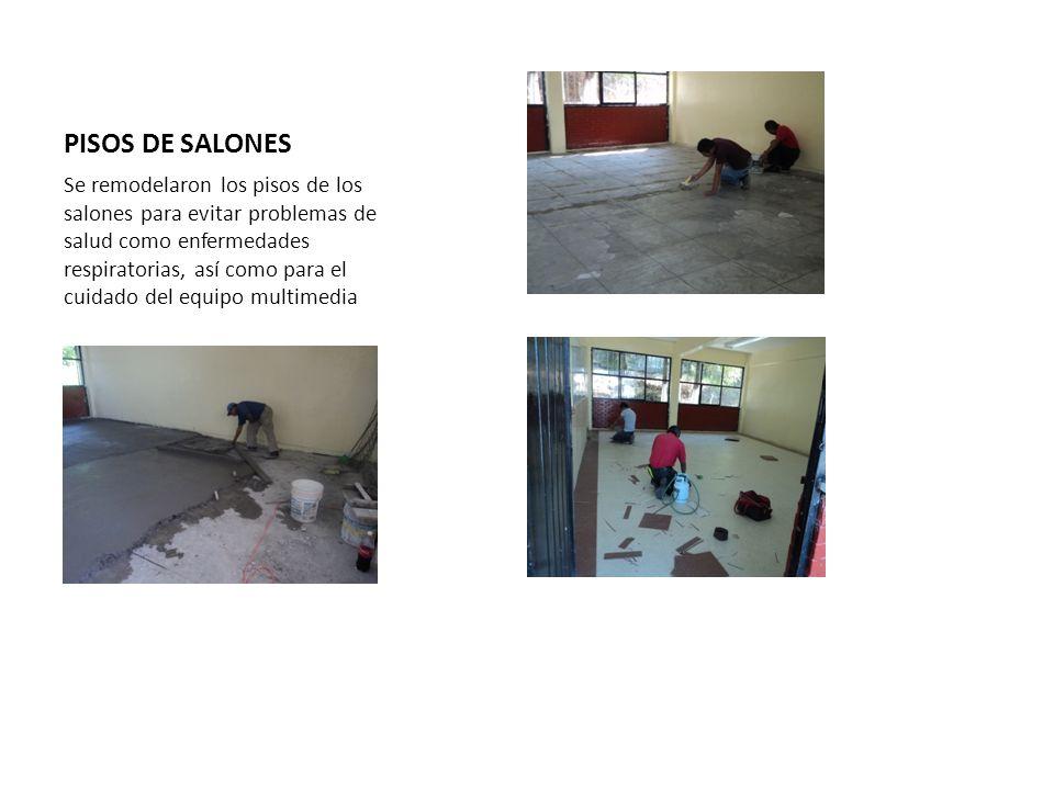 PISOS DE SALONES
