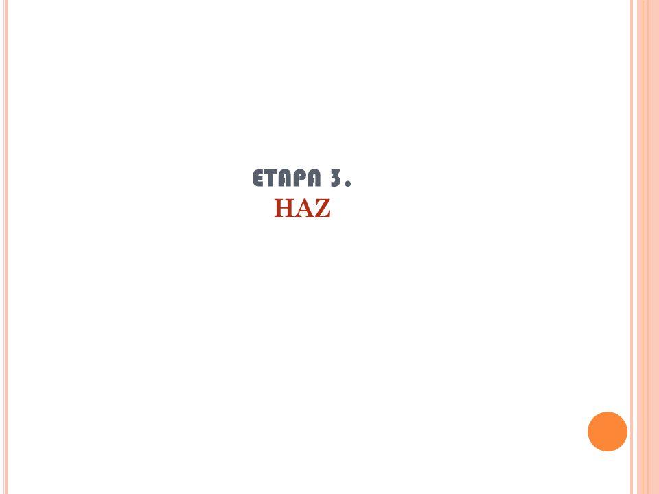 ETAPA 3. HAZ