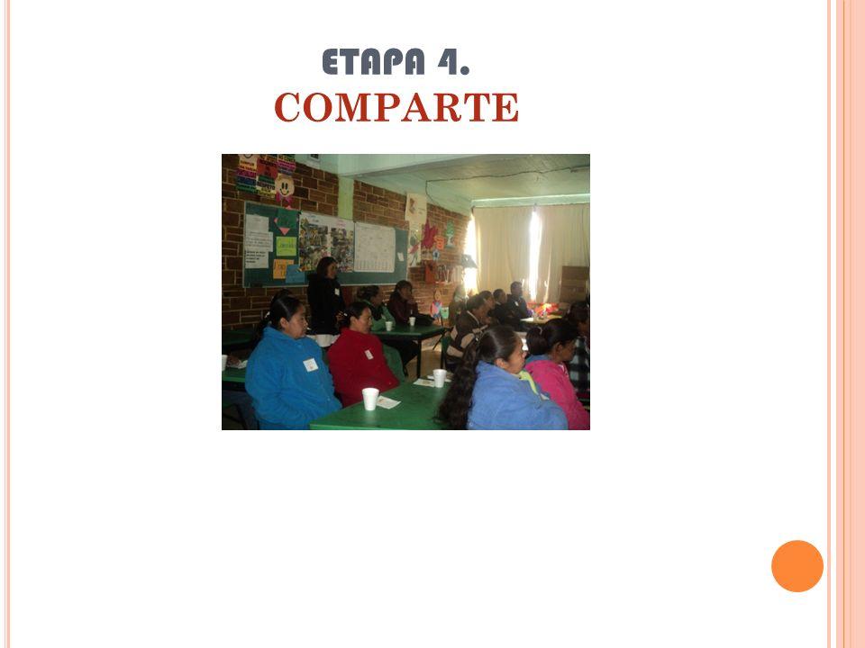 ETAPA 4. COMPARTE