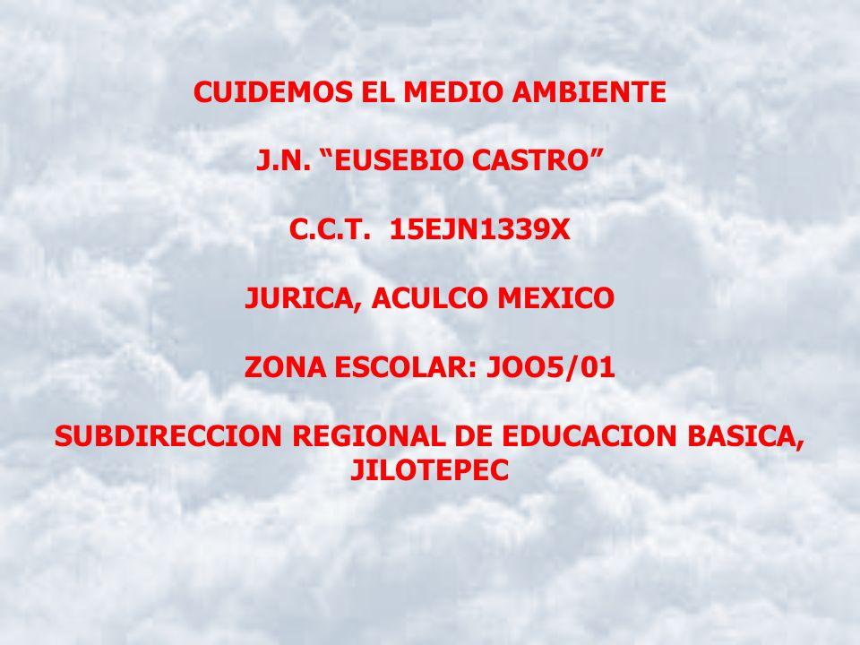 CUIDEMOS EL MEDIO AMBIENTE J.N. EUSEBIO CASTRO C.C.T. 15EJN1339X