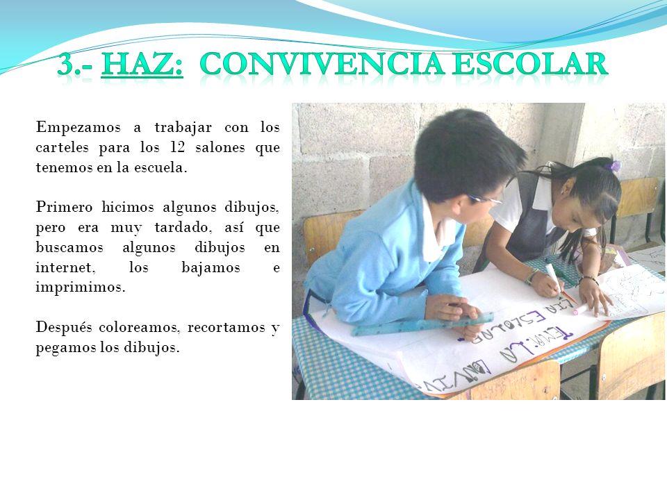 3.- HAZ: CONVIVENCIA ESCOLAR