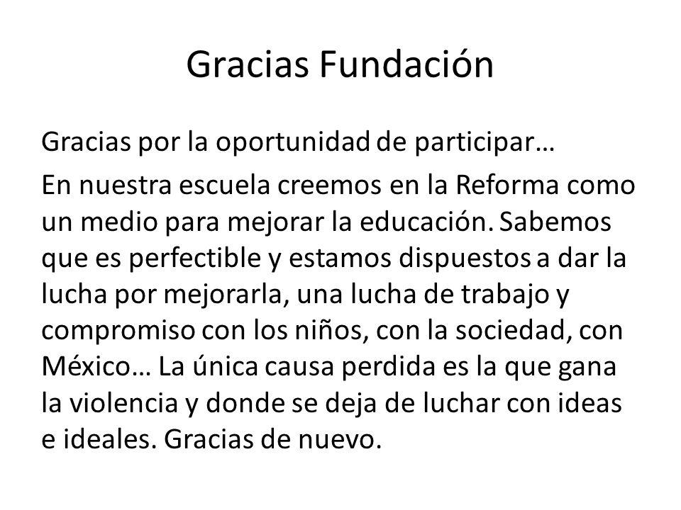 Gracias Fundación