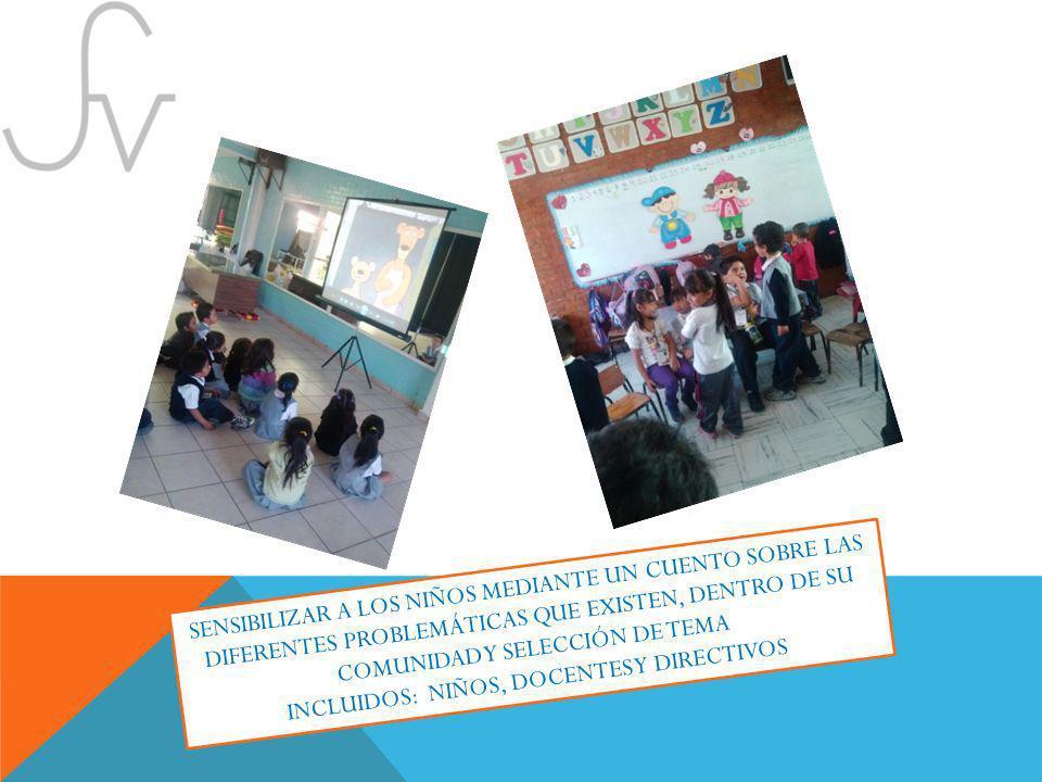INCLUIDOS: NIÑOS, DOCENTES Y DIRECTIVOS