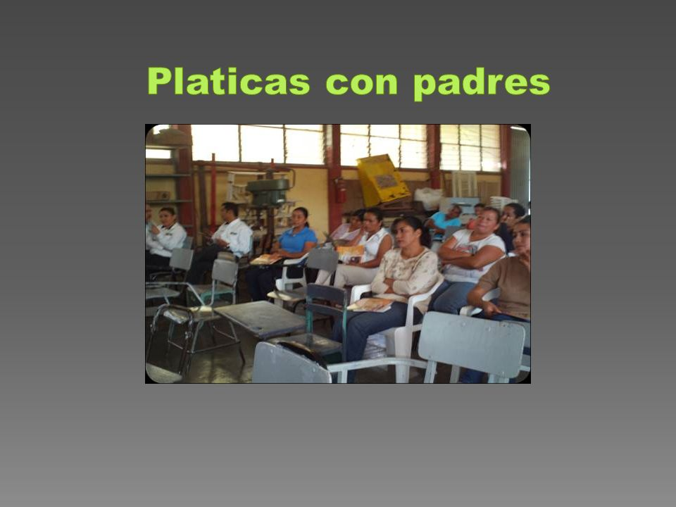 Platicas con padres