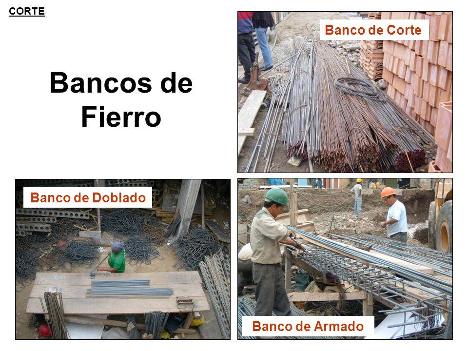 CORTE Banco de Corte Bancos de Fierro Banco de Doblado Banco de Armado