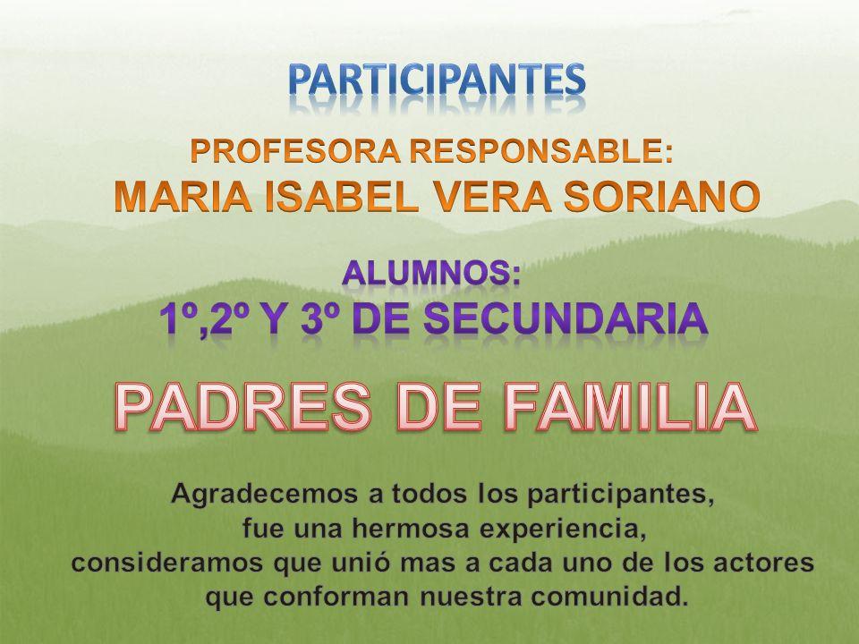PADRES DE FAMILIA PARTICIPANTES 1º,2º Y 3º DE SECUNDARIA