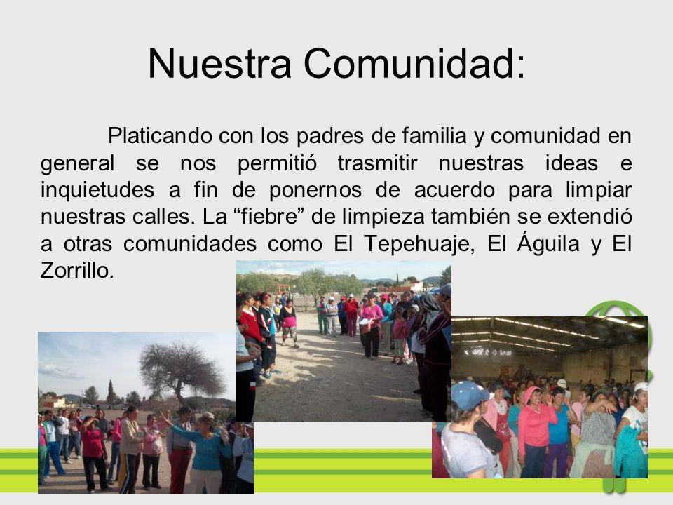 Nuestra Comunidad: